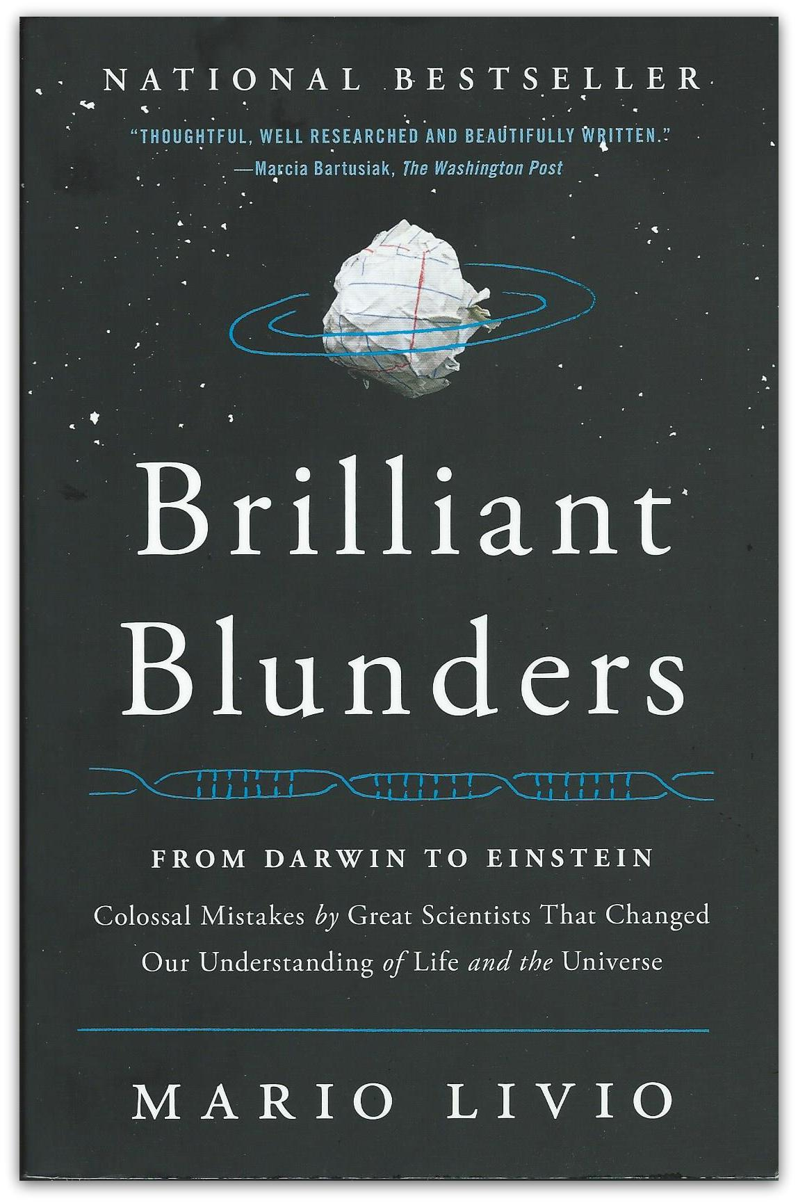 Brilliant Blunders Book Cover